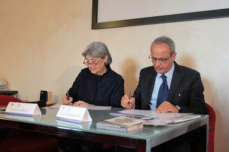 16.12. 2016 Accordo Quadro Fondazione Neuromed-Tor Vergata