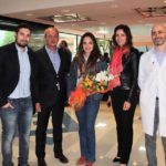 20.04.2017  Denise Capezza: da Gomorra in visita alla Fondazione Neuromed