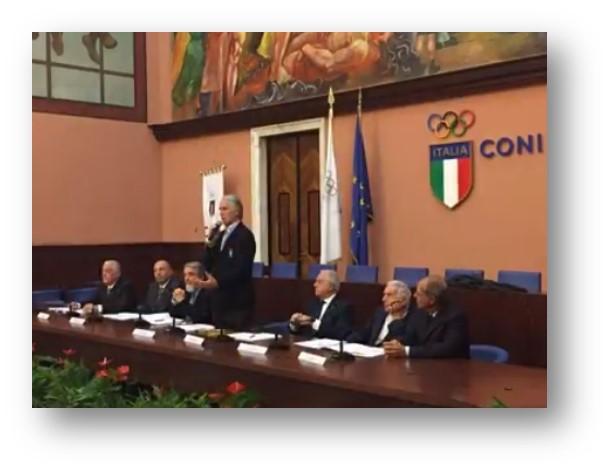 24.10.2016 FONDAZIONE NEUROMED E CONI  SPORT E MALATTIE RARE