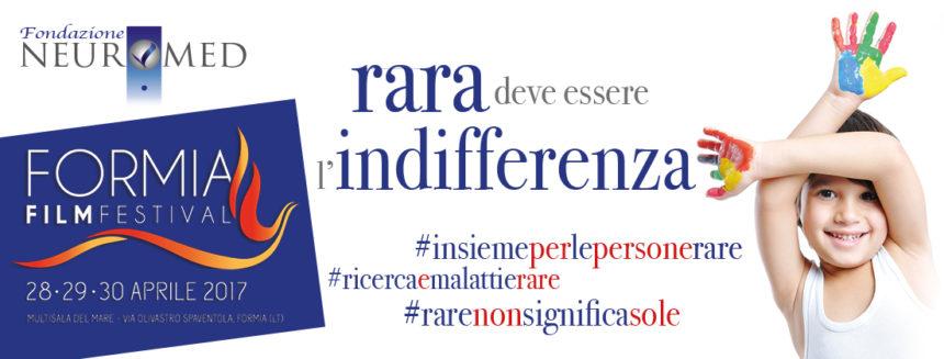 30.04.2017 Fondazione Neuromed e Formia Film Festival per la malattie rare