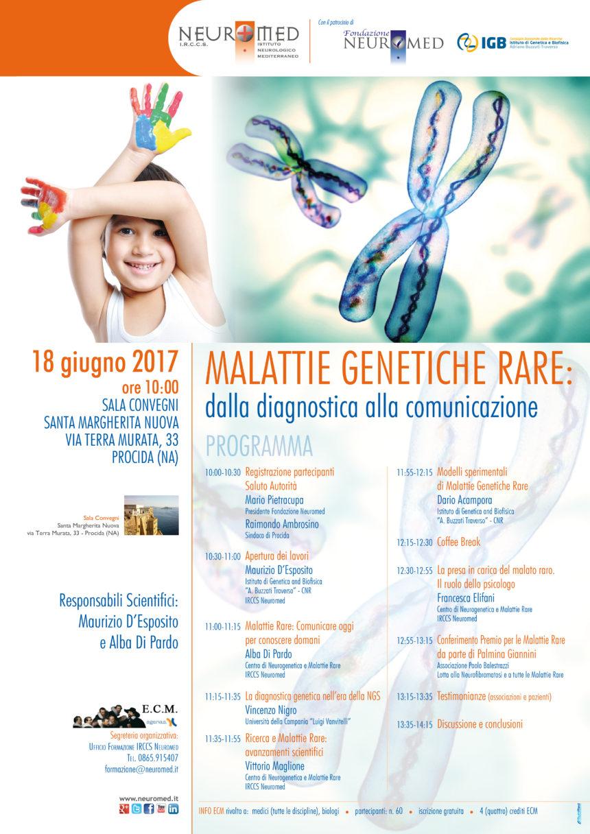 18.06.2017 – Malattie Rare: a Procida il corso ECM dedicato a queste patologie