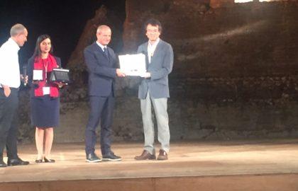 Dal Congresso mGlu: Premiato a Taormina il Prof. Masanobu Kano.