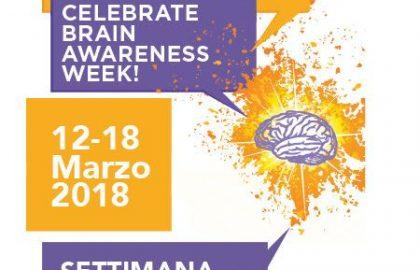 12-18 marzo 2018 – Settimana mondiale del cervello