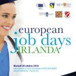 30 ottobre 2018 – European job days Irlanda