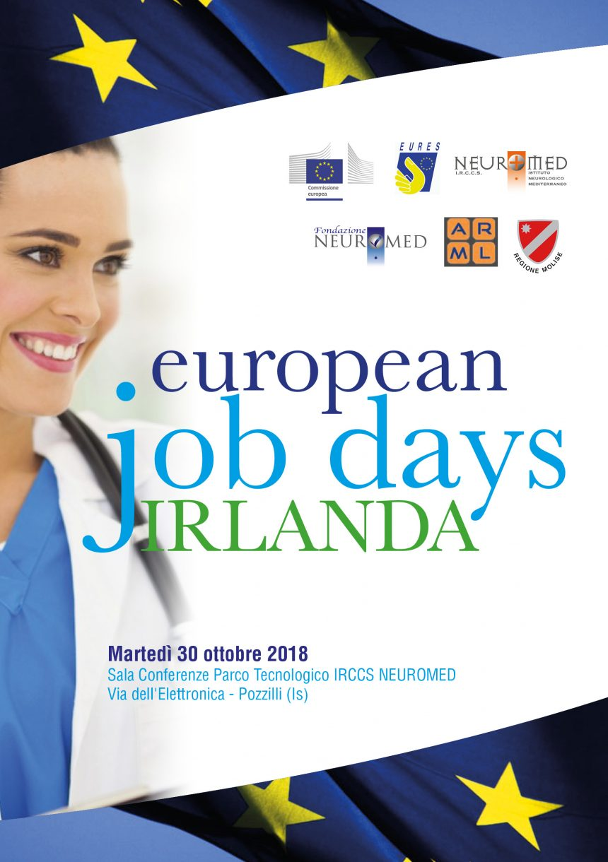 30 ottobre 2018 – European job days Irlanda