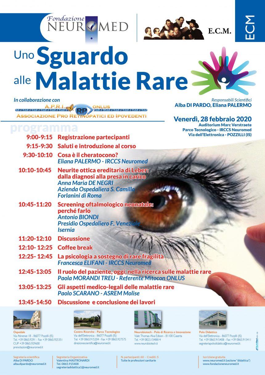 ECM – Uno sguardo alle Malattie Rare